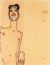Egon Schiele: Mime van Sen, 1910