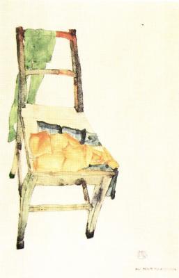 Egon Schiele: Dva z mých kapesníků, 1912