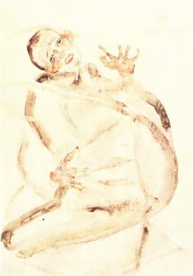Egon Schiele: Rád vydržím pro umění a mé milované!, 1912