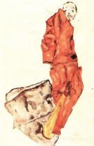 Egon Schiele: Zadržet umělce je zločin, znamená to vraždit rašící život!, 1912