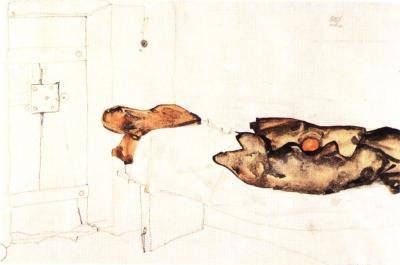 Egon Schiele: Jeden pomeranč byl jediným světlem, 1912