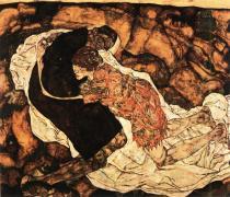 Egon Schiele: Smrt a dívka, 1915/16