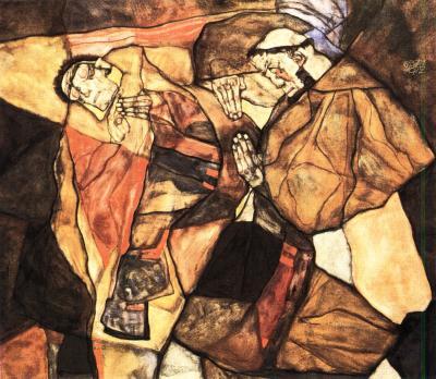 Egon Schiele: Agonie, 1912