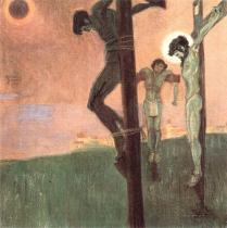Egon Schiele: Ukřižování, 1907