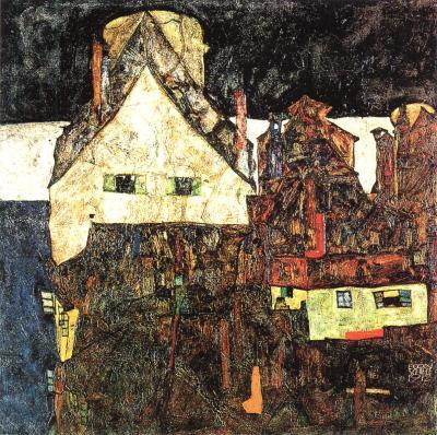 Egon Schiele: Mrtvé město VI, 1912