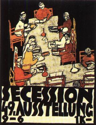 Egon Schiele: 49. výstava Secese (plakát), 1918
