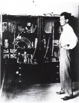 Egon Schiele ve svém ateliéru, 1915