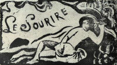 Titulní list časopisu Le Sourire