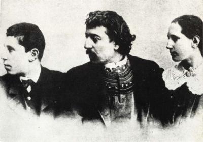 Gauguin s dcerou Aline a synem Emilem