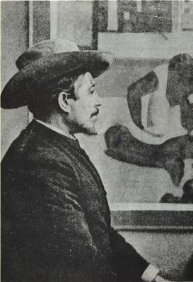 Zima 1893-94, poslední dochovaná fotografie Paula Gauguina