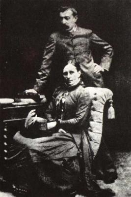Paul Gauguin s manželkou Matte