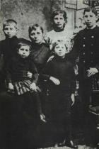 Matte Gauguinová s dětmi