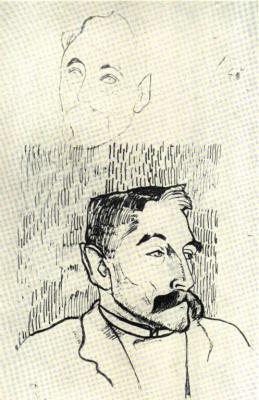 Podobizna básníka Stephana Mallarméa