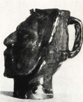 Váza Gauguin (pohled z boku)