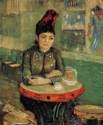 Agostina Segatoriová v Café de Tambourin
