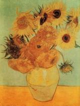 Váza s dvanácti slunečnicemi (Slunečnice)
