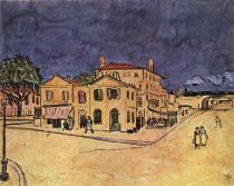 'Žlutý dům' na náměstí Lamartine v Arles