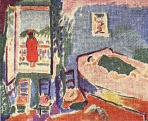 Interirér v Collioure