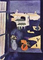 Tanger, pohled z okna
