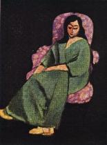 Žena v lenošce