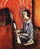 Dívka u piana