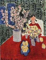 Větévky kvetoucí švestky
