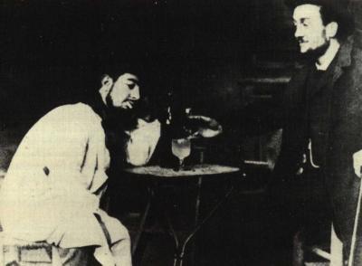 Henri de Toulouse-Lautrec a Lucien Métivet v Mirlintonu