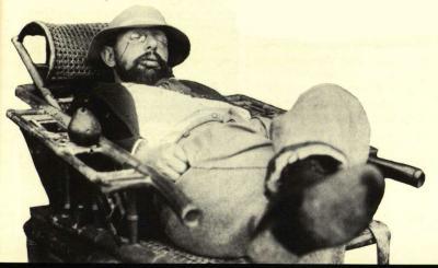 Henri de Toulouse-Lautrec dřímající