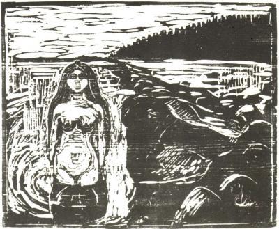 Koupající se dívka (Rusalka)