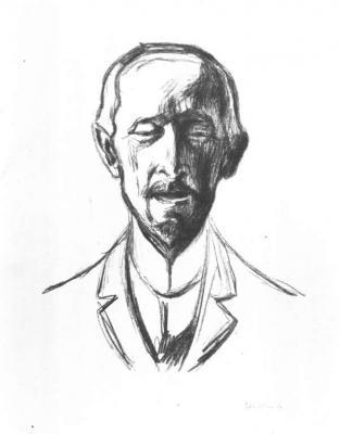 Portrét Alberta Kollmanna