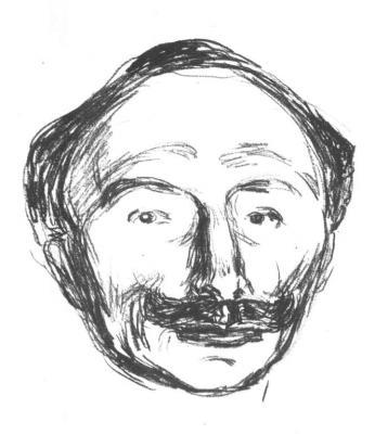 Portrét Emanuela Goldsteina