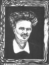 Portrét Augusta Strindberga