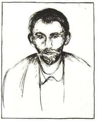 Portrét Stanislava Przybyszewského