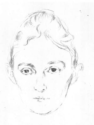 Portrét Marie Linde