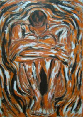 Truchlící býk