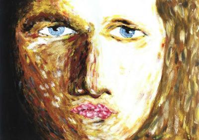 Forbidden face [selfportrait]