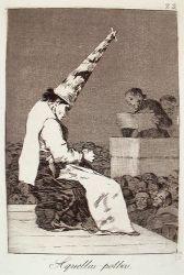 Pouhá hromádka prachu (Caprichos, č. 23: Aquellos polbos)