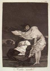 Špatná noc (Caprichos, č. 36: Mala noche)
