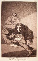 Ostýchavec (Caprichos, č. 54: El Vergonzoso)