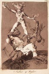 Vstávat a padat (Caprichos, č. 56: Subir y bajar)