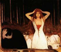 Popel. Olej a tempera na plátně. 1894. 120,4×141. Nasjonalgalleriet, Oslo.