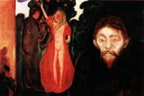 Žárlivost. Olej na plátně. 1895. 67×100. Sbírka Rasmus Meyers, Bergen.