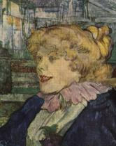 Angličanka ze Staru v Le Havru. Olej, dřevo. 1899. 41×33. Musée Toulouse-Lautrec, Albi.