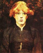 Carmen. Olej na plátně. 1884. 52,8×40,8. Francine Clark Art Institute, Williamstown, Massachusetts.