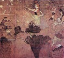 La Golue tančí. Olej, plátno. 1895. 285×307,5. Musée du Louvre, Paříž.