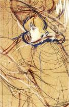 Studie pro L'Estampe Originale. Olej na lepence. 1893. Soukromá sbírka.