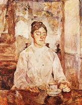 Kontesa Adéle de Toulouse-Lautrec. Olej na plátně. 1883. 93,5×81. Musée Toulouse-Lautrec, Albi.