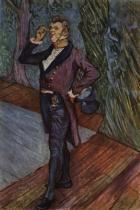 Portrét herce Samaryho. Tempera. 1889.