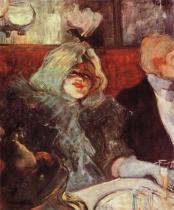 V soukromém pokoji U mrtvé krysy. Olej, plátno. 1899. 55×45. Courtauld Institute Galleries, Londýn.
