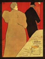 Divadelní program. Barevná litografie. 1893.